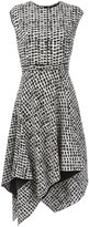 Proenza Schouler asymmetric flared dress - women - Silk/Acetate/Viscose - 2