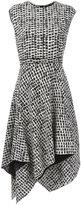 Proenza Schouler asymmetric flared dress - women - Silk/Acetate/Viscose - 4