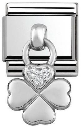 Nomination Women's Charm 925Silver Zirconia331800/02