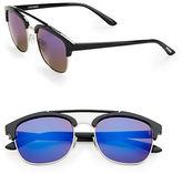 Steve Madden 51MM Square Aviator Sunglasses