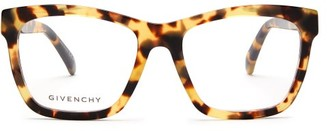 Givenchy Square Acetate Glasses - Yellow
