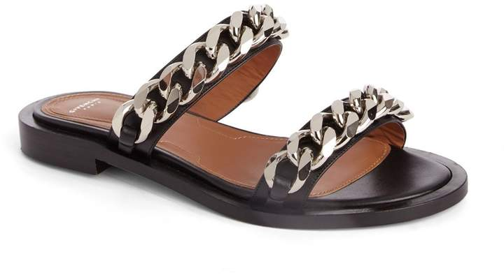 Givenchy Double Chain Slide Sandal