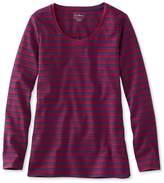 L.L. Bean L.L.Bean Tunic, Long-Sleeve Stripe