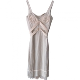 BCBGMAXAZRIA Beige Dress