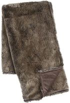 Pier 1 Imports Luxe Faux Fur Chinchilla Throw