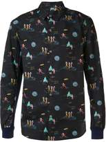 Undercover printed shirt