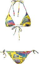Moschino comic book bikini