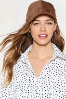 Nasty Gal Come to a Head Corduroy Baseball Cap