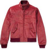Noah - Cotton-corduroy Harrington Jacket