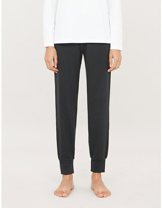 The White Company Skinny woven jogging bottoms