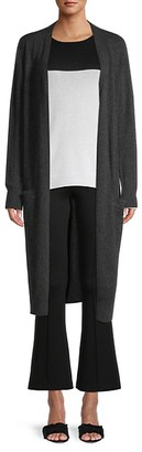 Amicale Cashmere Duster Cardigan Sweater