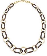 Michael Kors Tortoiseshell Link Necklace