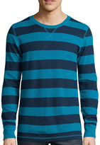 Arizona Long-Sleeve Striped Thermal Shirt