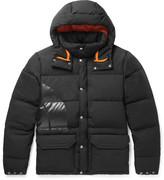 Junya Watanabe + North Face Canyon Cotton-blend Down Jacket - Black
