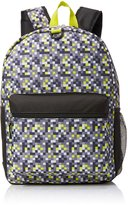 "FAB Starpoint Big Boys Lime Pop"" Digicamo Backpack With Headphones"