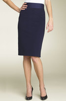 'Marta' Ponte Knit Pencil Skirt