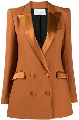 Hebe Studio Bianca Cady double-breasted blazer