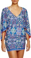 Laundry by Shelli Segal Pretty Partridge Tunic Swim Cover-Up