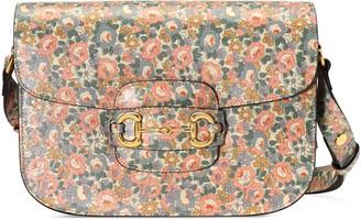 Gucci Online Exclusive Horsebit 1955 Liberty London bag