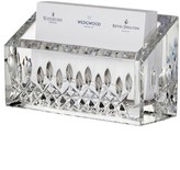 Waterford Lismore Lead Crystal Business Card Holder - White