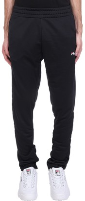 Fila Sandro Pants In Black Cotton