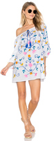 Juliet Dunn Cotton Boho Tunic