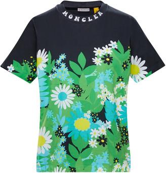 MONCLER GENIUS 8 Moncler Richard Quinn Floral Cotton T-Shirt