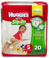 Huggies Little Movers Slip-On 20-Count Size 5 Jumbo Pack Diapers