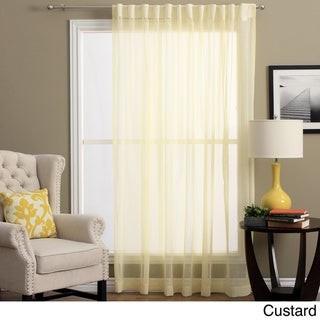 Ricardo Lucerne Wanda Pleat Back Tab Patio Curtain Panel - 104 x 84