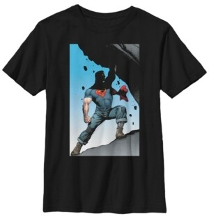 Fifth Sun Dc Comics Little and Big Boys Superman and His True Power Short Sleeve T-Shirt