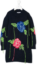 MSGM intarsia-knit sweater