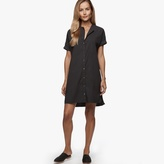 James Perse Rolled Sleeve Shirt Dress