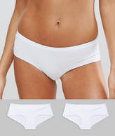 New Look 2 Pack Bonded Short