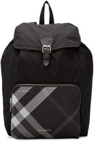 Burberry Black Packable solid To Check Backpack