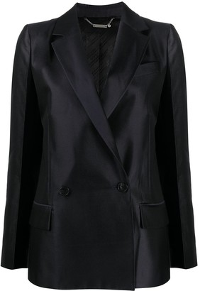 Givenchy Plain Double-Breasted Blazer
