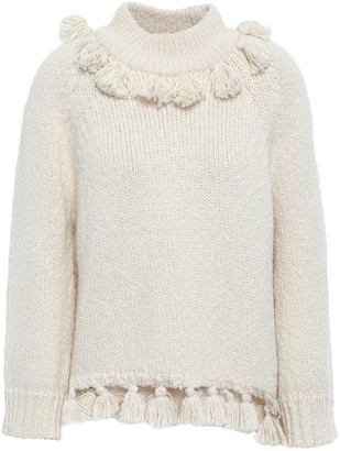 Kate Spade Tasseled Cotton Sweater