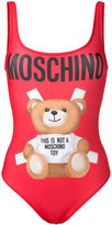 Moschino teddy bear swimsuit - women - Polyester/Spandex/Elastane - 44