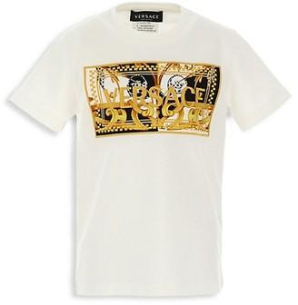 Versace Little Boy's & Boy's Barocco-Print T-Shirt
