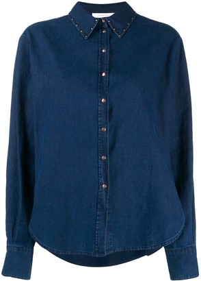 See by Chloe studded shirt
