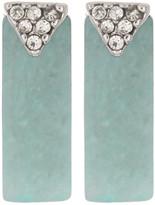 Fossil Mint Stud Earrings