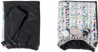 Karl Lagerfeld Paris K/Soho fingerless gloves