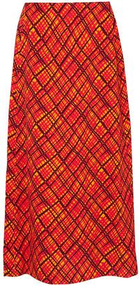 Marni Printed Crepe Maxi Skirt
