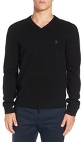 Original Penguin Men's V-Neck Lambswool Sweater