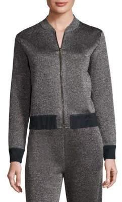 Missoni Metallic Zip Front Jacket
