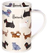 Harrods Walking Dogs Mug