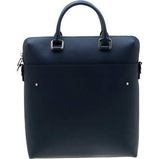 Louis Vuitton Grigori Blue Leather Bags
