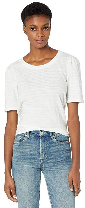 Thumbnail for your product : 1 STATE Textured Rib Knit Puff Top Women's Clothing