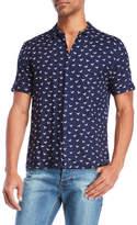 Bellfield Dove Print Short Sleeve Shirt