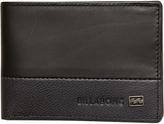 Billabong Exchange Slim Leather Wallet Black