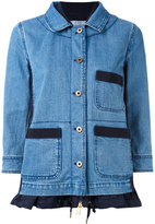 Moncler Houx denim jacket - women - Cotton/Polyamide/Polyester - 1